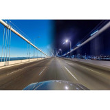San Francisco bay bridge day to night blend. No cars because the bridge was closed for maintenance:)