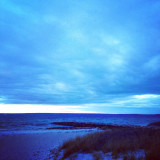 A stormy winter's day on Cape Cod Bay
