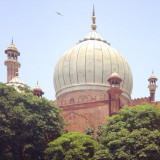 The Jama Masjid at Old Delhi