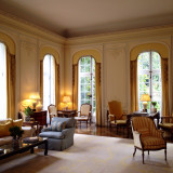 One of the drawing rooms of Winfield House, the residence of the American Ambassador in London, England.