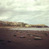 praia formosa, the best beach in Madeira Island, Portugal