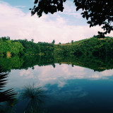 One of the crater lakes littered around Fort Portal in Western Uganda.