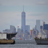 Freedom Tower In The Middle