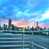 #watersedge, #bridge, #skyline, #nyc, #balcony