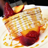 24-layer crepe cake by San Francisco pastry chef Justin Nilson