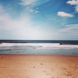 Beautiful moments at the beach in Sunderland