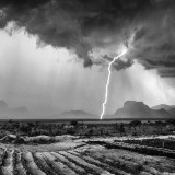 Thunderstorm in Angola (Africa)