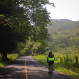 Cycling and photography lovers in a beautiful place