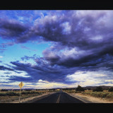 From my hometown in the high desert of California. A rare but beautiful site of clouds I couldn't miss the chance to capture this moment.