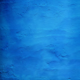 Blue - an abstract detail from a blue wall