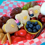 Say I Love You with a Turkey Sandwich Bento Lunch