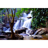 1 of the 12 beautiful waterfalls that the jungles of Chiang Mai call home. Shot with Nikon D5000 18-55mm lens.