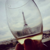 Cheers to the Eiffel Tower