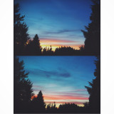changes of the sky within 5 minutes