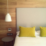 Boutique hotel room in San Sebastian, Spain