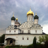 An Orthodox Church in Moscow region, Russia