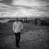 My boyfriend Tim West at the port of inis mor near the Aran Islands. Styling Levi jeans and an Aran Islands cotton white shirt.