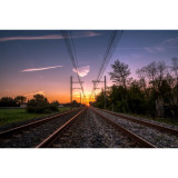Leading Lines Sunset