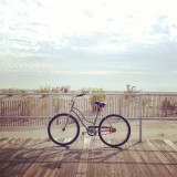 Biking in Ocean Grove, New Jersey