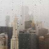 Rainy day in Chicago