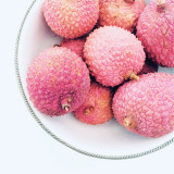 Lychees in small bowl