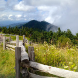 View from Mt Mitchell
