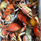 Boiled Crabs
