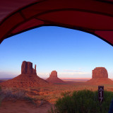 By far the best campsite I've had, Monument Valley