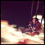 Who doesn't love the swings at the fair?