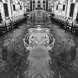Venice beyond imagination : Venice canal , bridge and  palaces, water, waves and architecture, dream or reality, so mysterious Venice, Italy