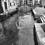 Venice, Italy. Baroque architecture, monuments and street life.Street and urban photography, Loeber-Bottero Black and White photography