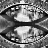 Venice beyond imagination : Venice Dorsoduro canal and bridge, palaces and architecture, water and houses, is this an eye, dream or reality, so mysterious Venice, Italy
