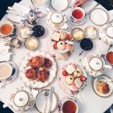 It's never too late for some fancy afternoon tea