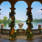 Hever Castle Lake, Summer 2014, England