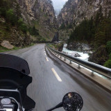 Motorcycle ride in the haute Alps
