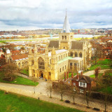 Rochester Cathedral in Kent, England