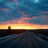 Dawn on The Palouse.