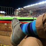 Watching the football in Monaco
