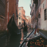 Gondola ride in Venice, Italy