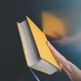 A yellow book