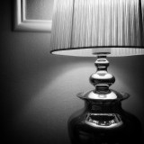 My lamp, black&white