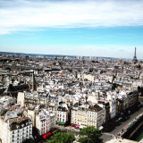 Paris as seen from Notre Dame.