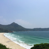 Sai Wan, Sai Kung, Hong Kong: beach hike with epic waves
