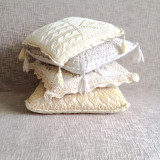 Collection of handmade pillows