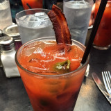Best Bloody Mary ever.  Bacon style.