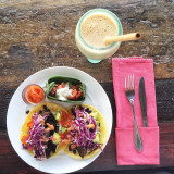 Tacos at Clear Cafe in Ubud, Bali