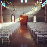 A gorgeous wedding venue in the Houston area. Love the light coming in through the sky lights.