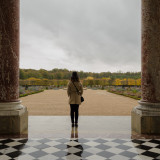 The Peristyle. Grand Trianon. Palace of Versailles. Paris.
