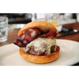 The best bacon cheeseburger at Bar Jules