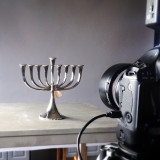 menorah photo shoot